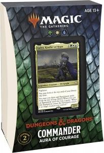 Adventures in The Forgotten Realms Commander Deck Aura of Courage