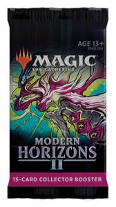 Magic Modern Horizons 2 Collector Booster pack