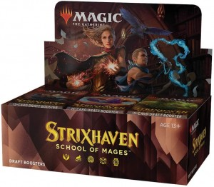Magic Strixhaven School of Mages Draft Booster Box