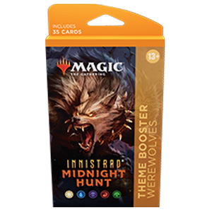 Magic the Gathering Innistrad Midnight Hunt Theme Booster - Werewolves